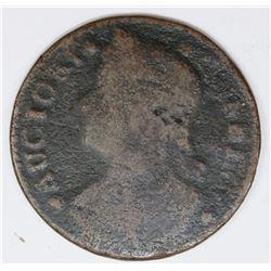 1788 CONN. CENT M15.1-L.1 R3+