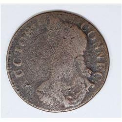 1787 CONN. CENT M16.2 NON.1 R5. A TOUGH VARIETY