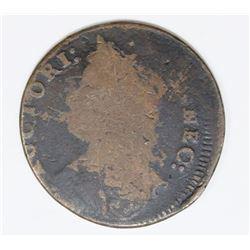 1787 CONN. CENT OFF CENTER STRIKING ERROR