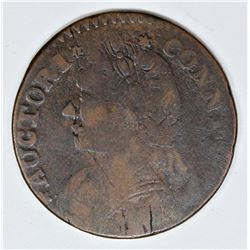 1788 CONN. CENT M12. 1-F1 R5 VERY SCARCE