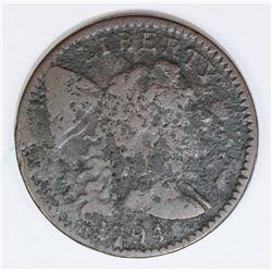1794 LARGE CENT VG DETAILS