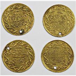 4 PIECE TURKISH GOLD