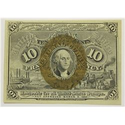 TEN CENT FRACTIONAL