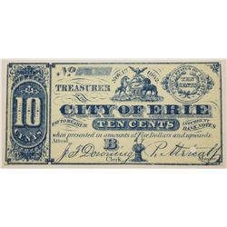 CIVIL WAR 1862  OBSOLETE SCRIP