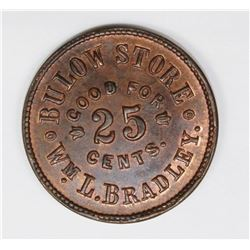 1879 BULOW STORE GOOD FOR .25 CENTS