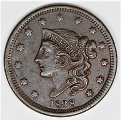 1838 MATRON HEAD CENT CHOCO BROWN AU55