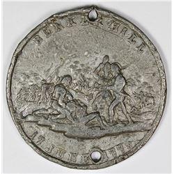 1773 BUNKER HILL BATTLE MEDAL STRUCK IN TIN