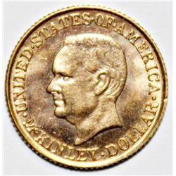 1916 MCKINLEY GOLD DOLLAR