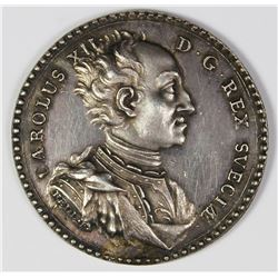 1718 ITALY  SILVER PROOF LIKE MEDAL