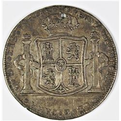SPAIN 1809 2 REAL PROCLAMATION MEDAL