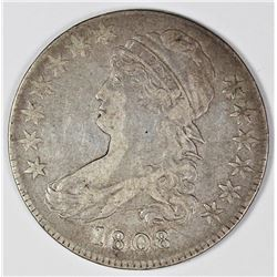 1808 BUST HALF ATTRACTIVE VF/XF
