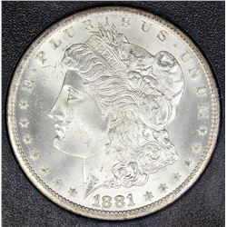 1881-CC MORGAN SILVER DOLLAR GSA