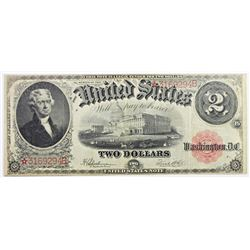 1917 LEGAL TENDER $2
