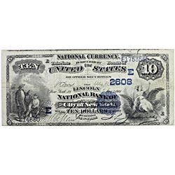 1882 NATIONAL CURRENCY $10