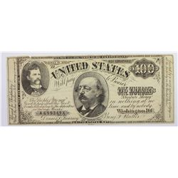 GREENBACK LABOR CAMPAIGN OF 1882 $100