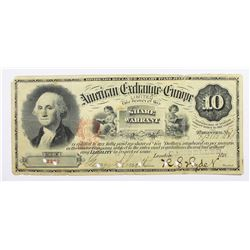 AMERICAN EXCHANGE WARRANT IN EUROPE $10