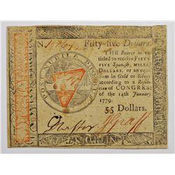 1779 $55 CONTINENTAL