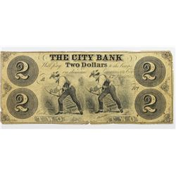 $2 THE CITY BANK OF KANSAS CITY, KS