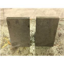 "(2) Steel Right Angle Plates, 4"" x 5"" x 6-1/2"""