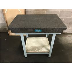 "Astrel 36"" x 24"" x 4"" Granite Plate with Metal Stand"
