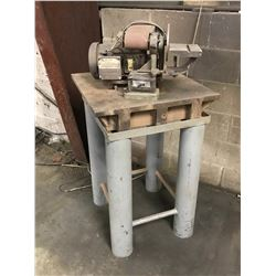Electric Sanding Unit with Metal Stand