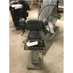Shop Grinder with Stand, No info on unit
