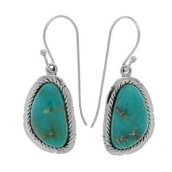 Silver Campo Frio Turquoise Dangle Earring