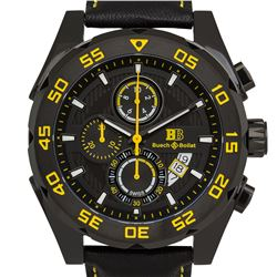 Buech & Boilat Torrent Mens Chronograph Watch