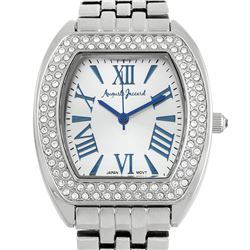 Auguste Jaccard Stylish Crystal Bezel Ladies Watch