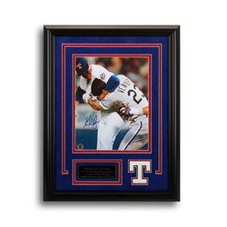 Nolan Ryan Texas Rangers Frame Signed 8x10 GFA