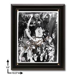 Duane Cooper 10.5x13 Black Plaque Signed 8x10v GFA