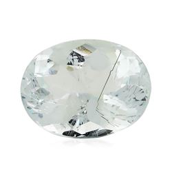 4.42 ct.Natural Oval Cut Aquamarine