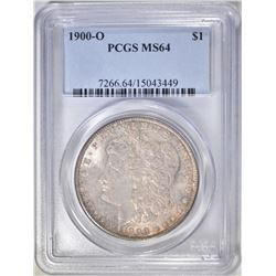 1900-O MORGAN DOLLAR, PCGS MS-64