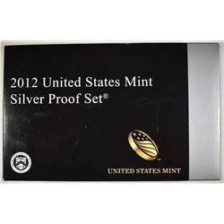 2012 U.S. SILVER PROOF SET