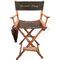 Star Trek: The Search for Spock Leonard Nimoy Director Chair