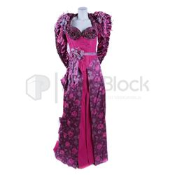 Star Trek: The Next Generation Lwaxana Troi Pink Dress
