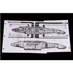 Star Trek: Deep Space Nine Defiant Master Systems Display Artwork