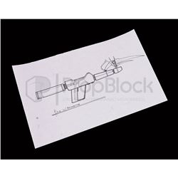 Star Trek: Deep Space Nine Alien Phaser Rifle Original Artwork