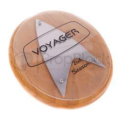 Star Trek: Voyager Season Two Crew Plaque