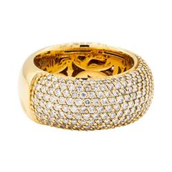 2.50 ctw Leo Wittwer Diamond Band - 18KT Rose Gold