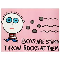 Boys Are Stupid, Throw Rocks at Them by Goldman, Todd