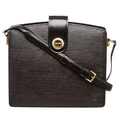 Louis Vuitton Black Epi Leather Capucine Shoulder Bag
