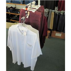 Metal Adjustable 2-Rack Clothing Display (fixture only)