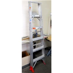 Werner Multi-Purpose Aluminum Step Ladder