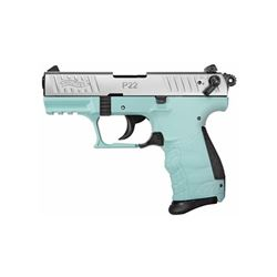 "WAL P22Q 22LR 3.4"" ANGEL BLUE 10RD"