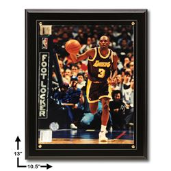 Sedale Threatt Los Angeles Lakers 10.5x13 Signed 8x10v GFA