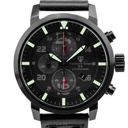 Tschuy-Vogt Crusader Mens Swiss Chronograph Watch