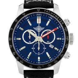 Zentler Freres Oracle Mens Swiss Chronograph Watch