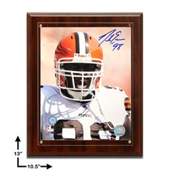 Nick Eason Cleveland Browns 10.5x13 Signed Plaque
