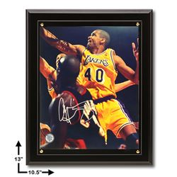 Antonio Harvey Los Angeles Lakers Signed Plaque GFA